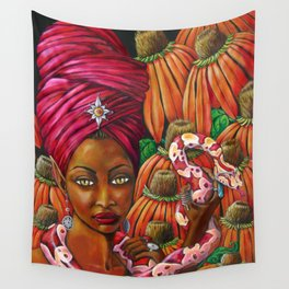 The Charmer Wall Tapestry