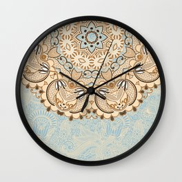 Mandala PK Wall Clock