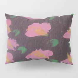 Pink Flower Abstract Pillow Sham