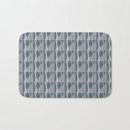 Simple Geometric Pattern 2 in Peninsula Blue Bath Mat