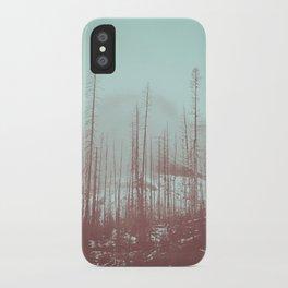 Burnt Winter iPhone Case