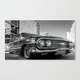 Slow and Low 60 B&W Canvas Print