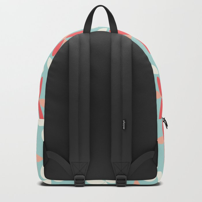 butterfly pattern retro color Backpack