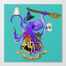 Hogwarts Octopus Canvas Print