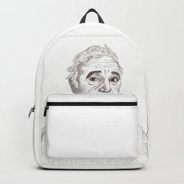 Charles Aznavour Backpack