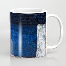 Blue Sashiko Coffee Mug
