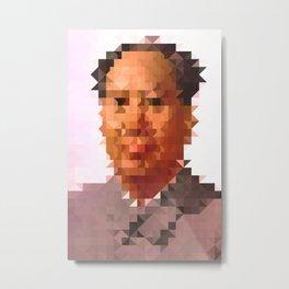 Mao D Metal Print