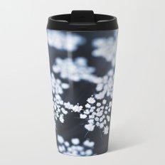 flower - blue lace Metal Travel Mug