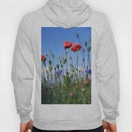 poppy flower no10 Hoody