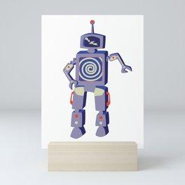 Dancing Robot Mini Art Print