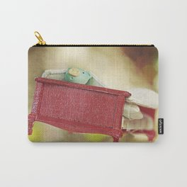 Pig on flying bed Carry-All Pouch
