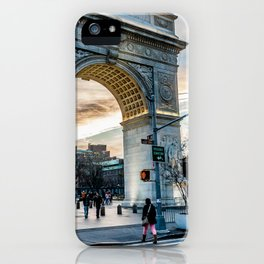 Washington Square Park, Greenwich Village NYC iPhone Case