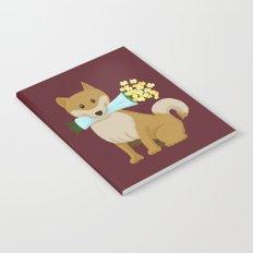 Flower Dog Notebook