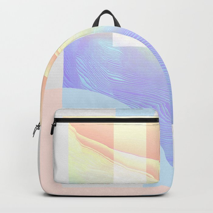 Shore Synth #1 Backpack by wobins