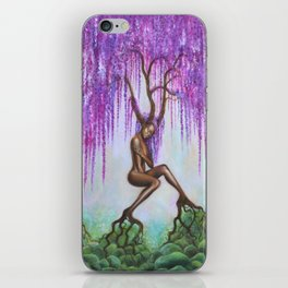 Whispers of Wisteria iPhone Skin