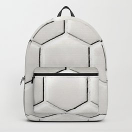 White Hex Backpack