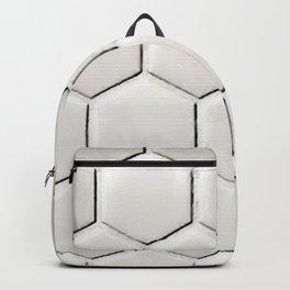 White Hex Backpack