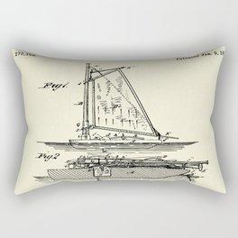 Fishing Float-1883 Rectangular Pillow