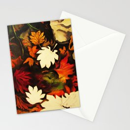 Autumn in Water II Stationery Cards