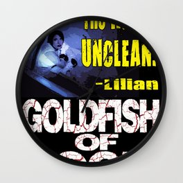 Goldfish of Doom - Lilian Water Wall Clock