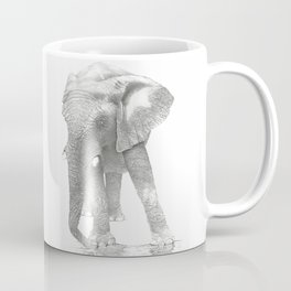 African Elephant, Loxodonta Africana Coffee Mug