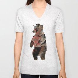 Rick Bear Unisex V-Neck