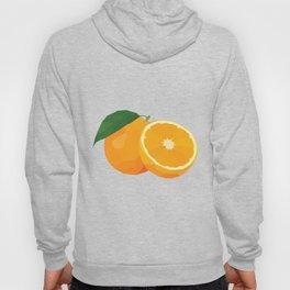 Geo Orange Hoody