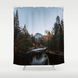 Half Dome from Sentinel Bridge Shower Curtain