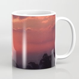 Sweet Pink Orange Sunset Coffee Mug