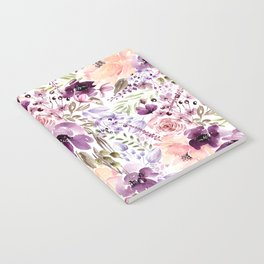 Floral Chaos Notebook