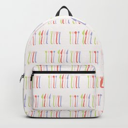 Spoon, Fork and Knife Vector Cutlery Backpack