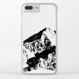 Mountains I Clear iPhone Case
