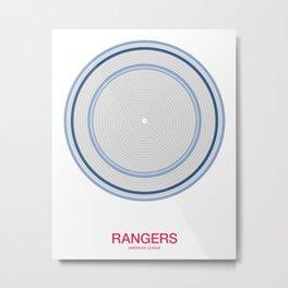 Texas rings Metal Print