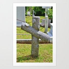 Cross Of Nance Art Print