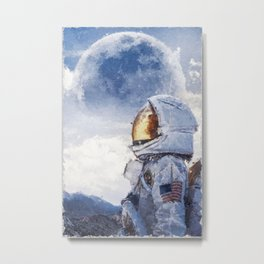 Conquer space  Metal Print