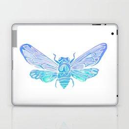 Summer Cicada – Blue Ombré Palette Laptop & iPad Skin