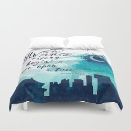 The Lunar Chronicles Quote Duvet Cover