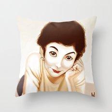 Tautou Throw Pillow