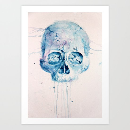 Melt Art Print