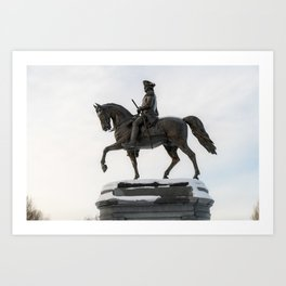 George Washington - Boston Common Art Print
