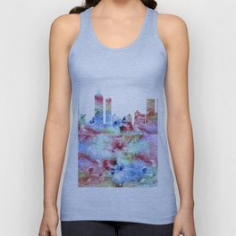 Atlanta Skyline Georgia Unisex Tank Top