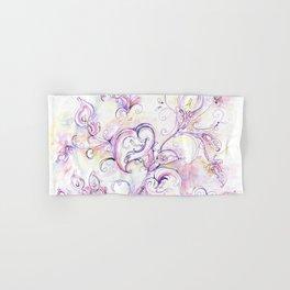 Purple calla lilies Hand & Bath Towel
