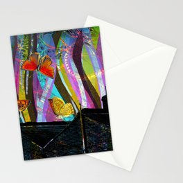 Butterfly Rooftops - Dream Series 005 Stationery Cards