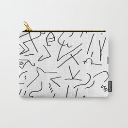 doodle people 1 Carry-All Pouch
