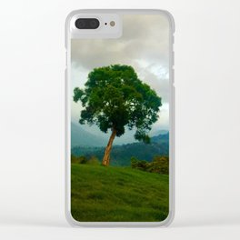 Colombian Countryside Clear iPhone Case