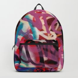 Colour of Graffiti which express mind  Backpack