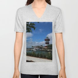 Harbour Town Light Unisex V-Neck