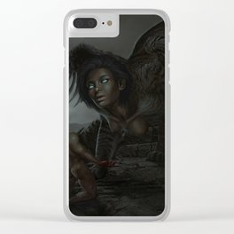 Judgment of the Sphinx Clear iPhone Case