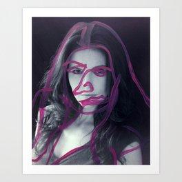 Amy Art Print