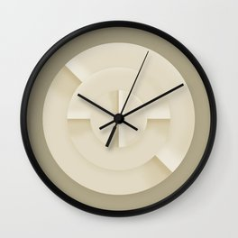 Turning sands Wall Clock